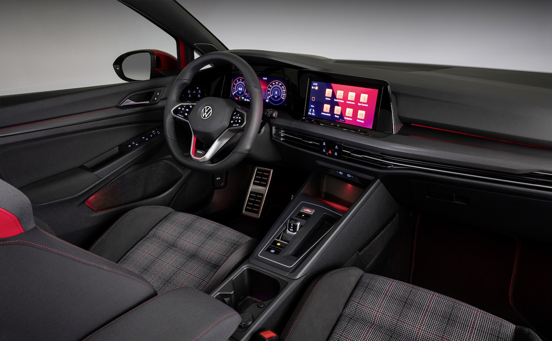 eighth generation volkswagen golf gti interior