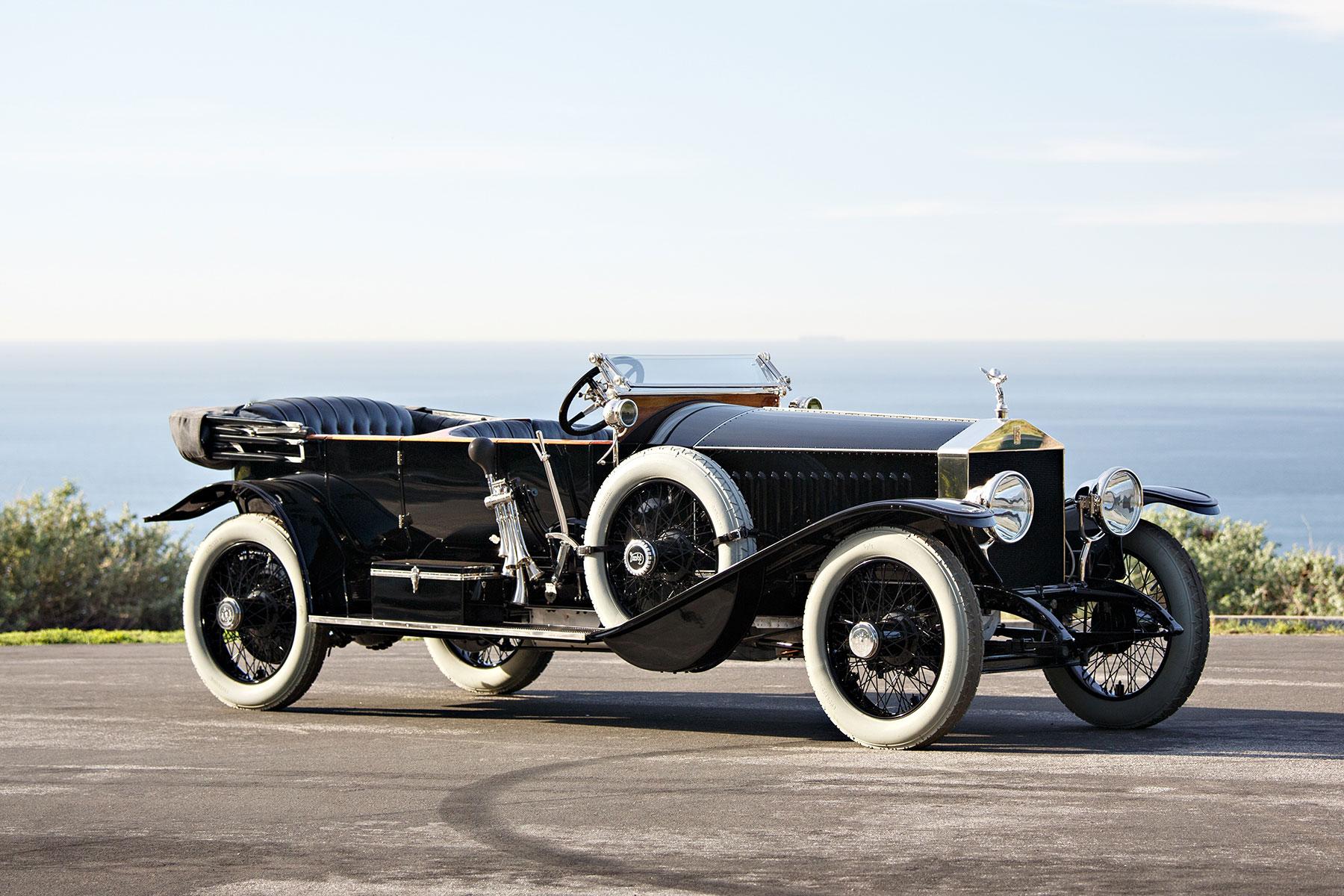 1914 Rolls-Royce 40/50 HP Silver Ghost Torpédo Phaeton