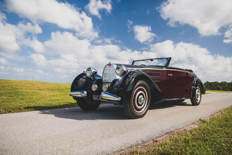 1938 Bugatti Type 57 Cabriolet by D'Ieteren