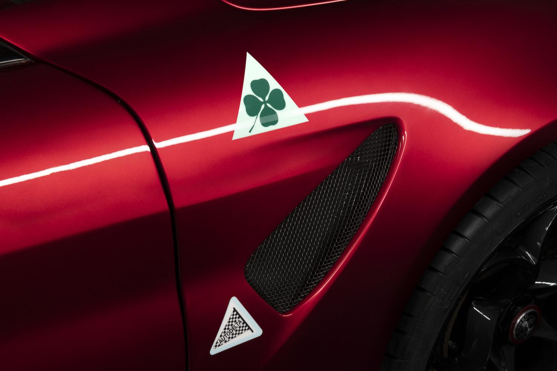 Alfa Romeo Giulia GTA side venting