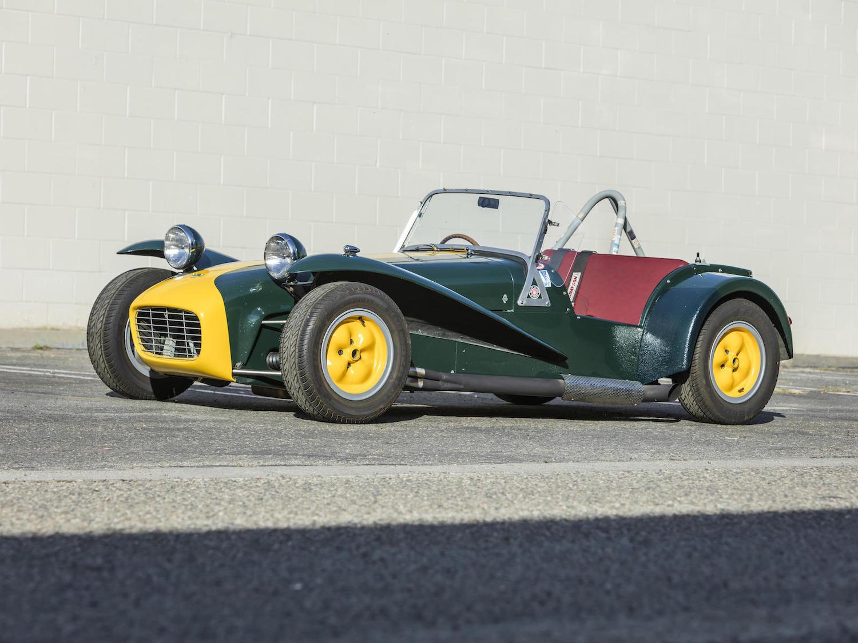1965 Lotus super seven s2 front three-quarter