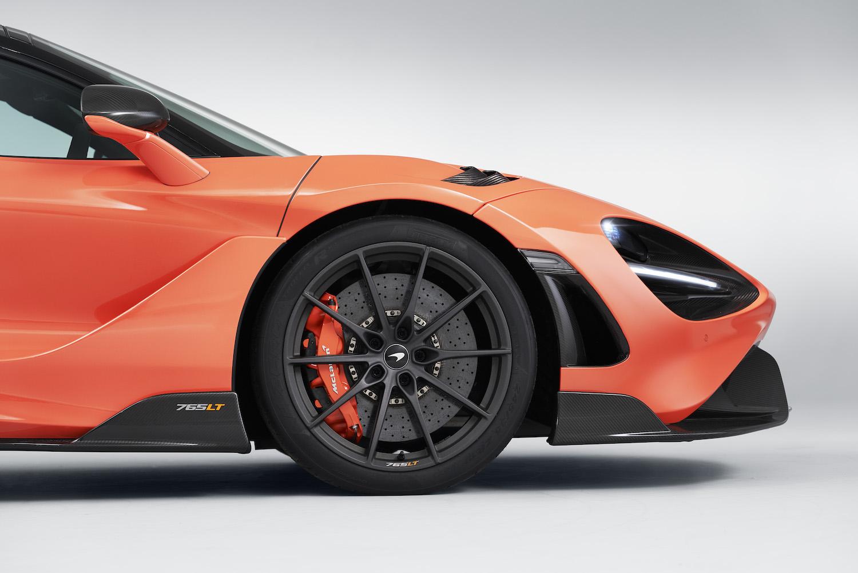 mclaren supercar front side-view