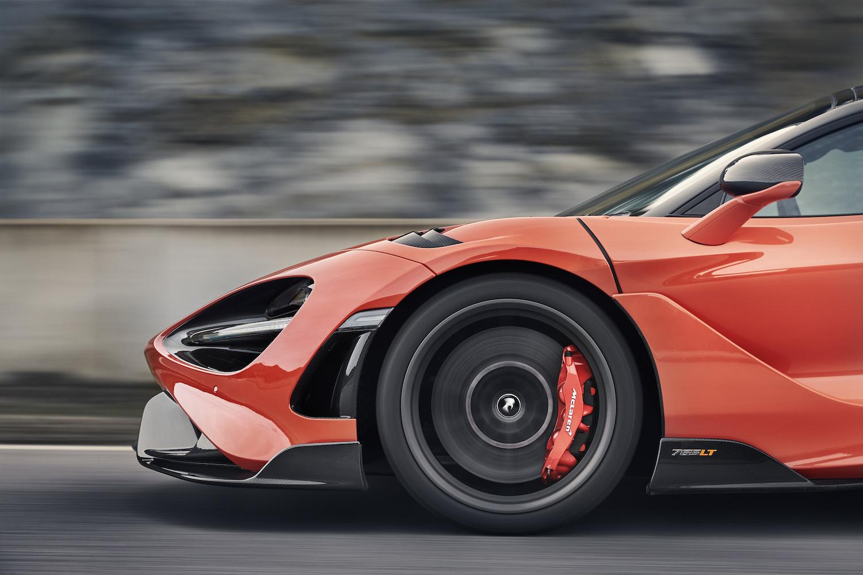 McLaren 765LT supercar front
