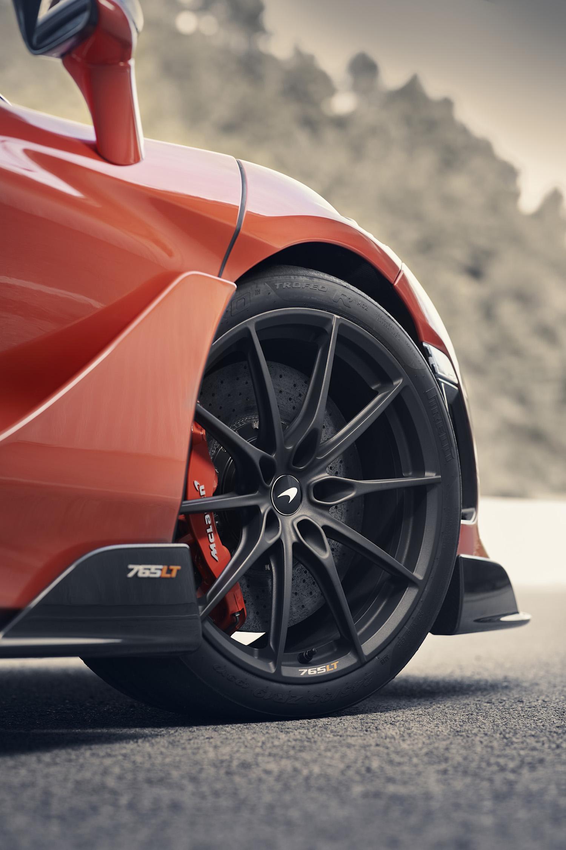McLaren 765LT supercar front interior