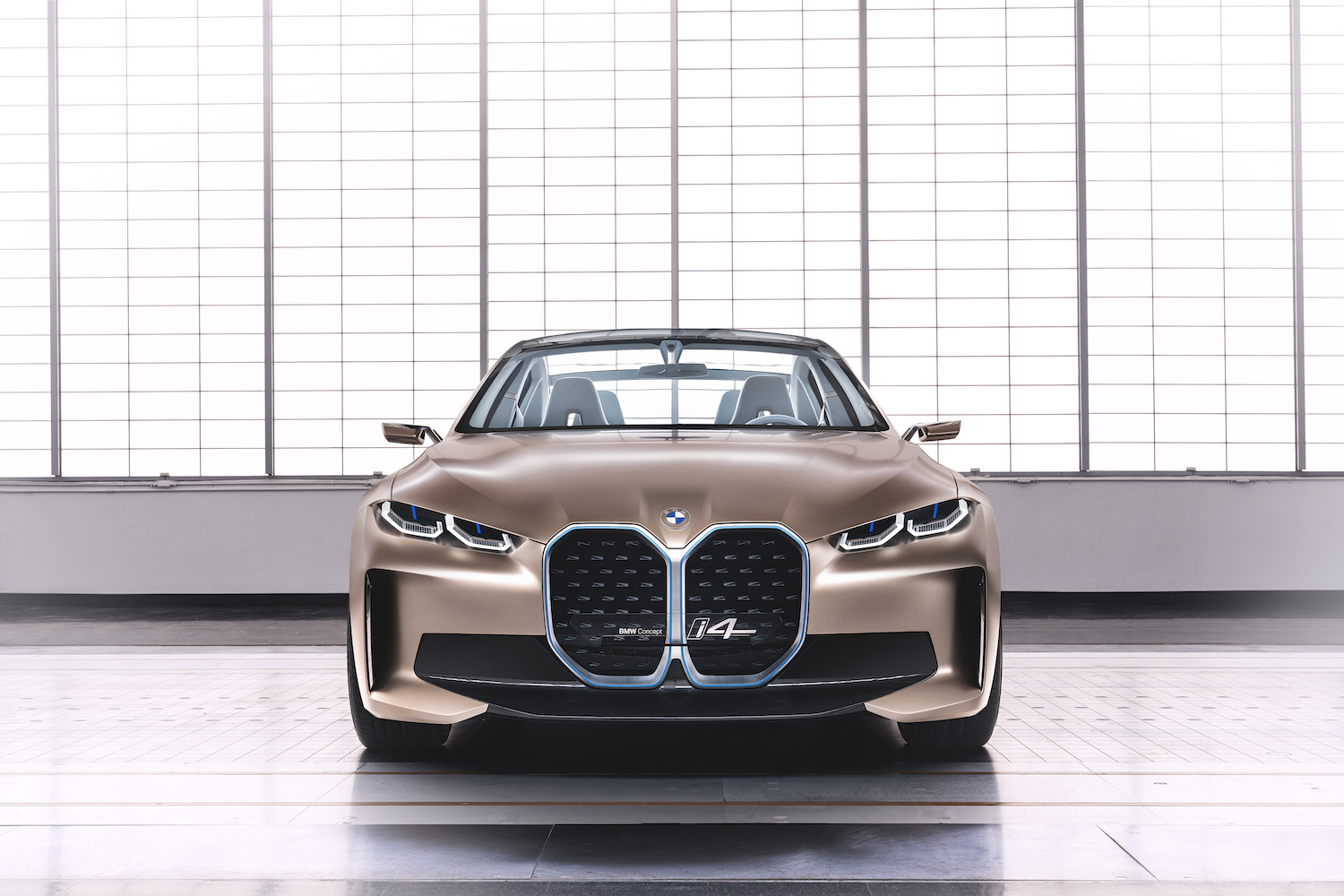 2021 BMW Concept i4 front