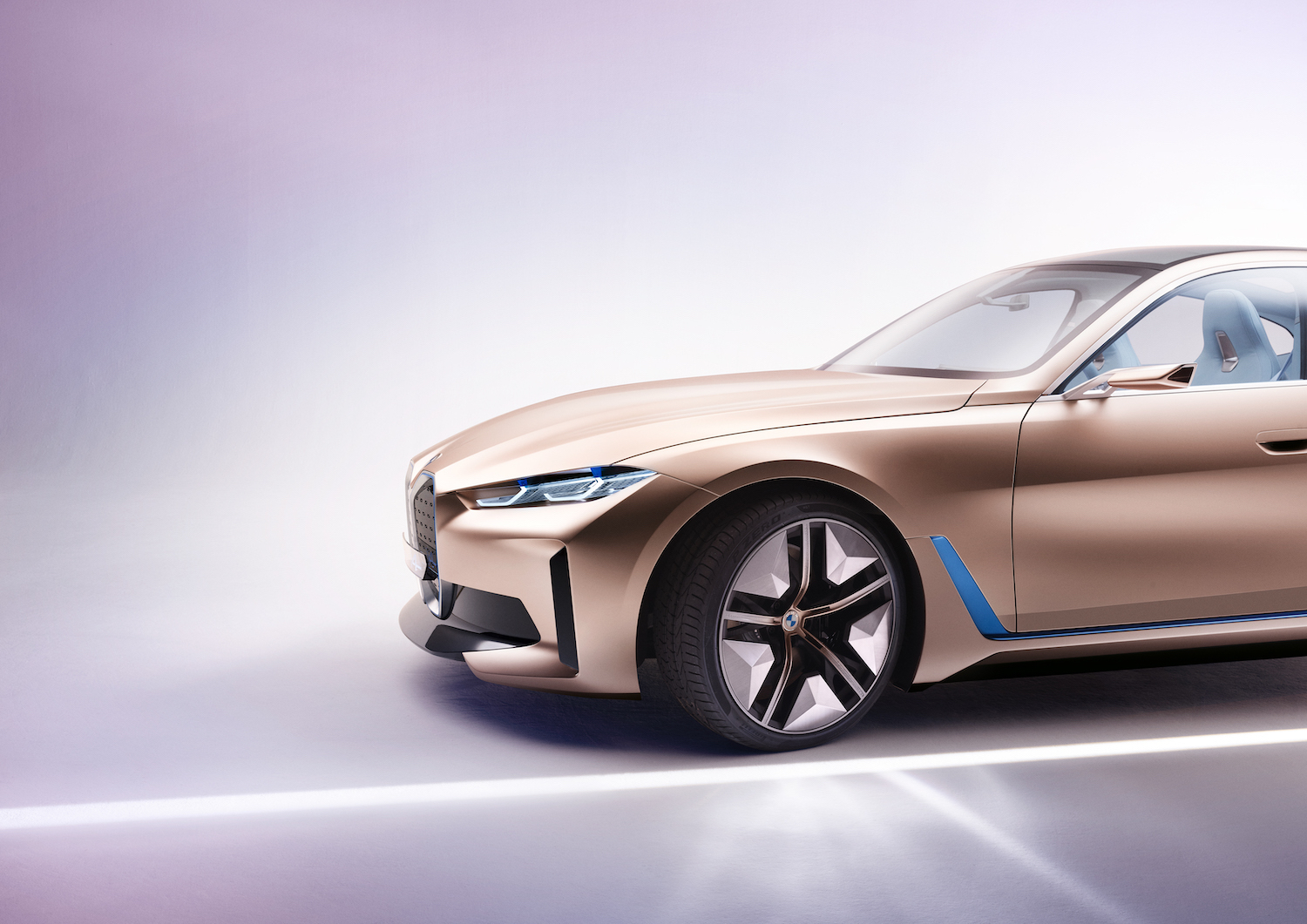 2021 BMW Concept i4 front side-view
