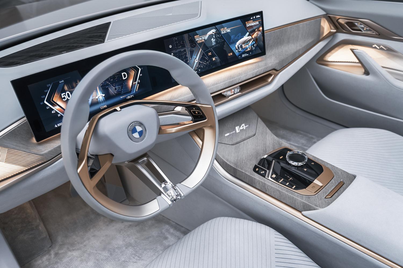 2021 BMW Concept i4 interior front dash