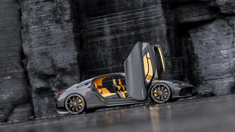 Koenigsegg gemera side-view
