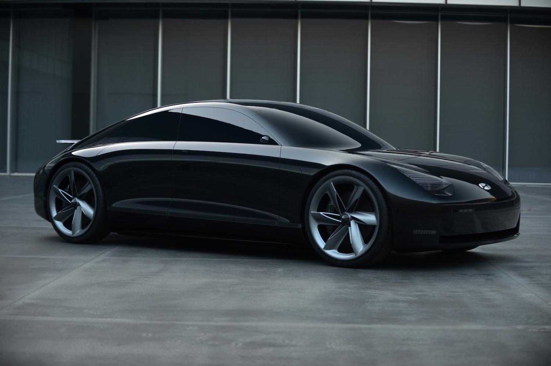 Hyundai Prophecy Concept EV front three-quarter