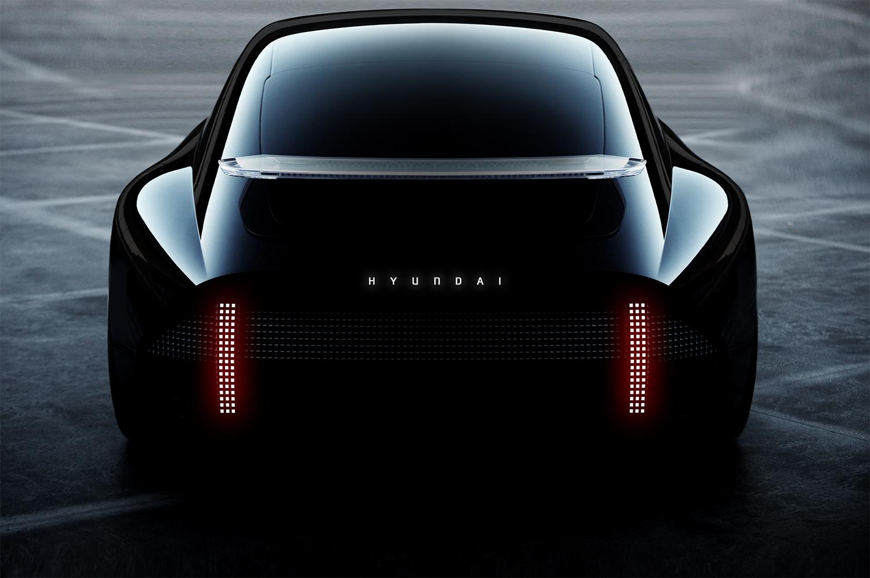 Hyundai Prophecy Concept EV rear