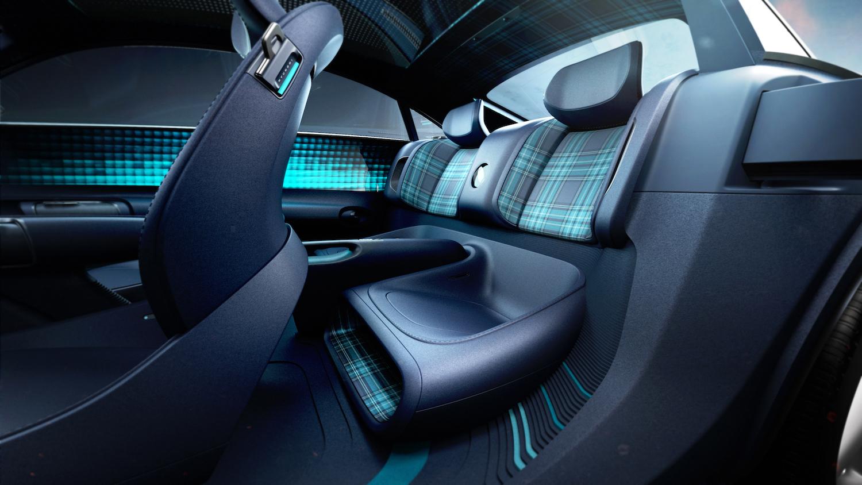 Hyundai Prophecy Concept EV rear seat