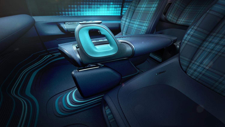 Hyundai Prophecy Concept EV center console