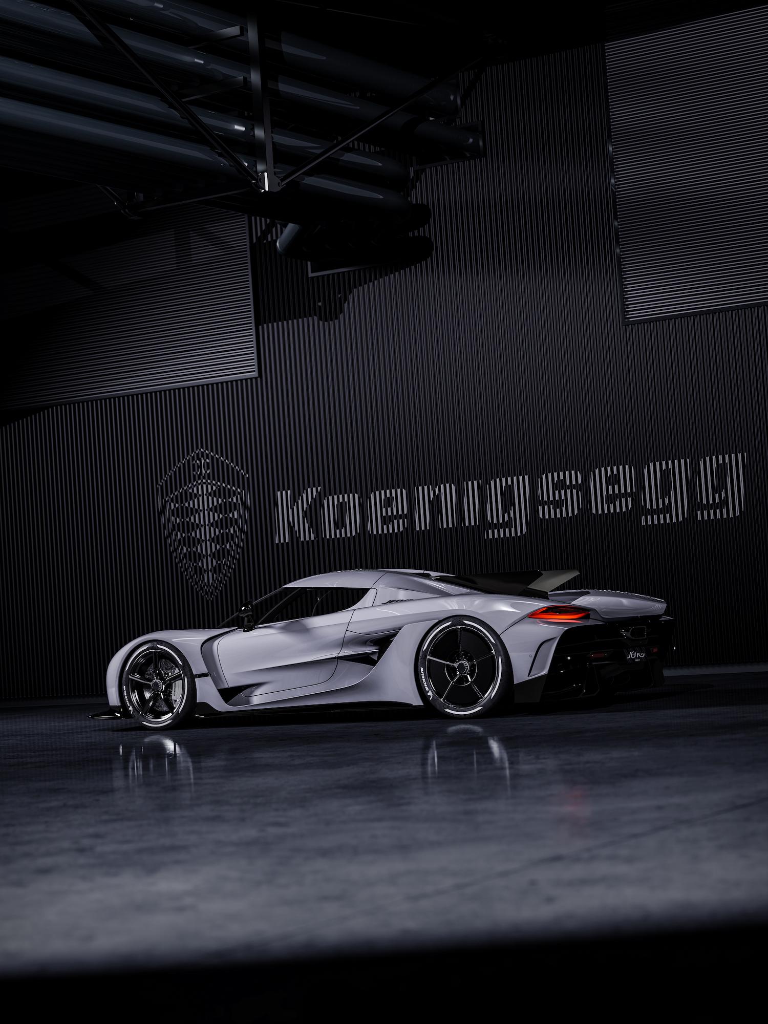 Koenigsegg rear three-quarter