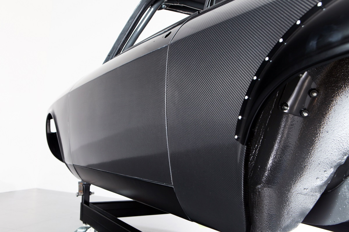carbon body panel side