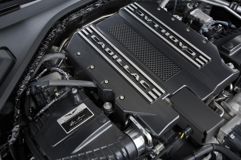blackwing v8 engine closeup