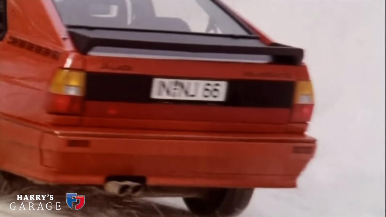 Audi coupe rear