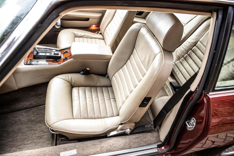 1986 Jaguar XJ-S TWR V12 HE 6.1-Litre Lynx Eventer Sports Estate front seats