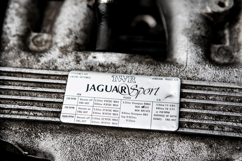 1986 Jaguar XJ-S TWR V12 HE 6.1-Litre Lynx Eventer Sports Estate engine badge