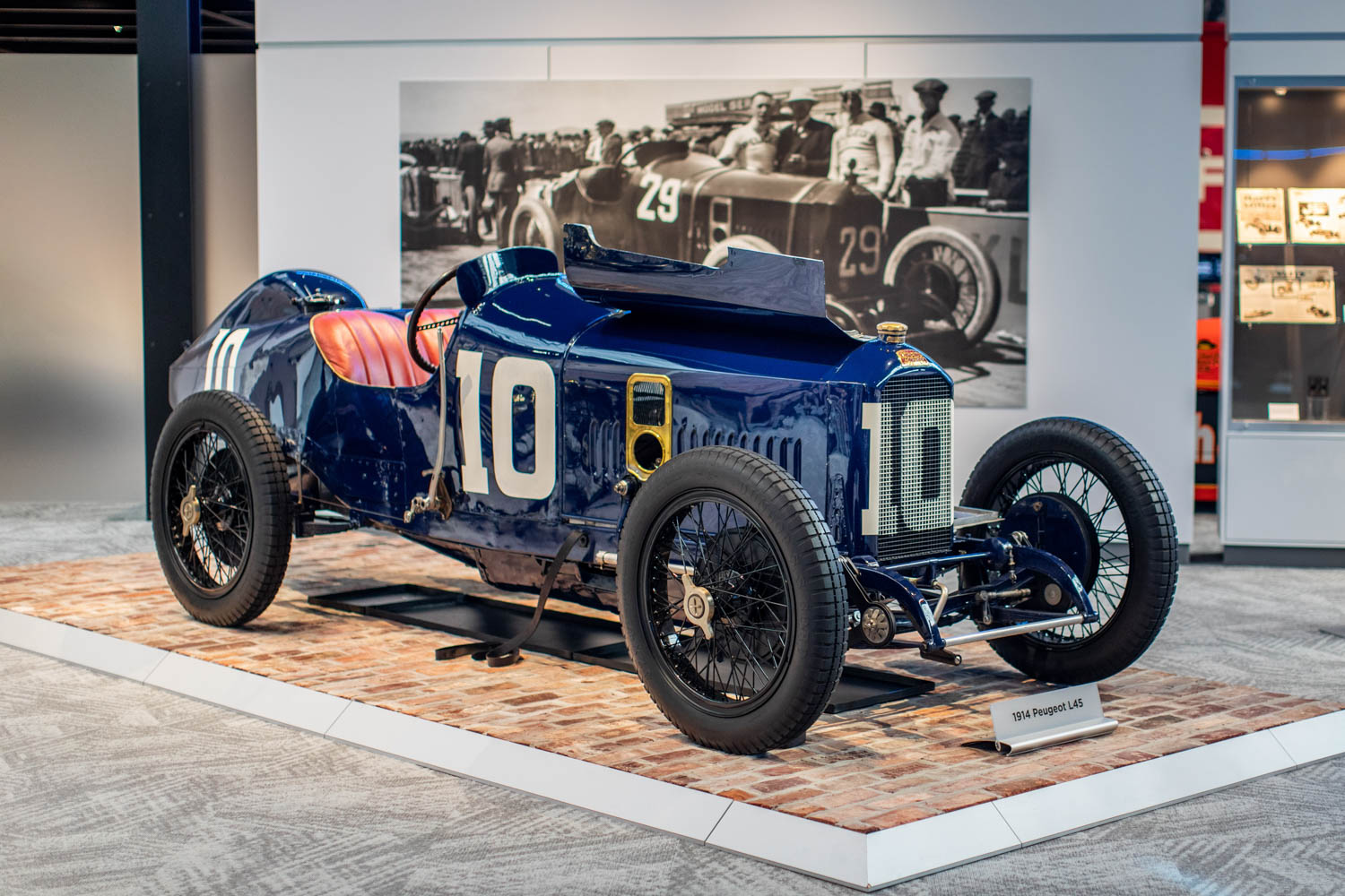 The 1914 Peugeot L45 raced at Indy in 1916 with the first twin-cam, 16-valve engine.