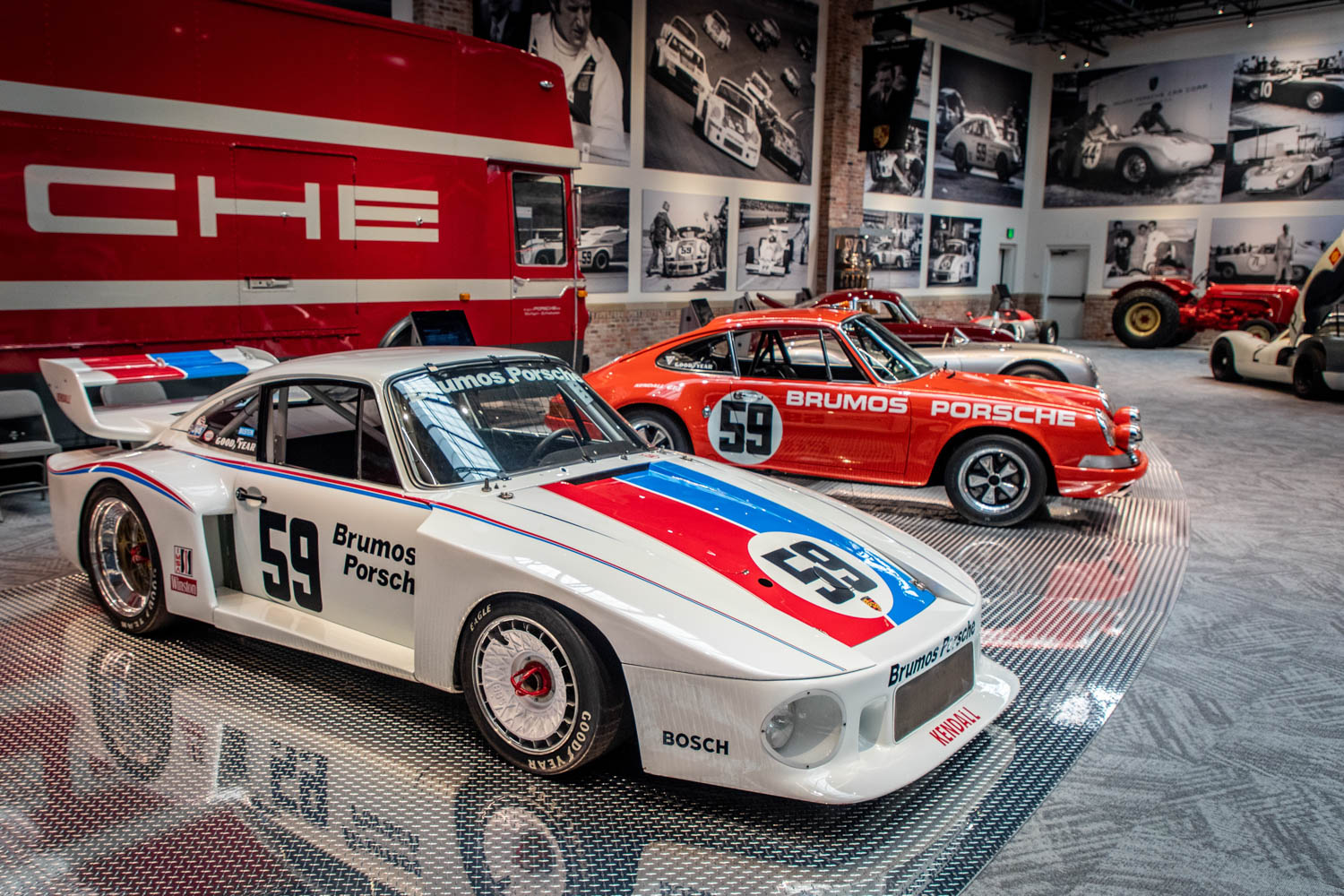 The 1979 Porsche 935 that Peter Gregg drove to eight wins and eight pole positions in the '79 IMSA Camel GT championship. It was his last race car and is believed to be the only unmodified 935 left in existence.