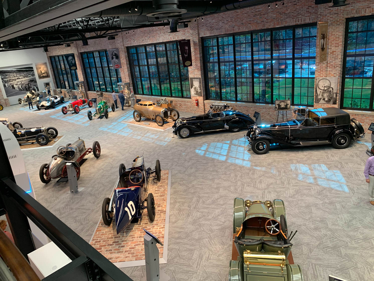 After abandoning the idea of renovating a dilapidated Model T plant in Jacksonville to house the new Brumos Museum, current Brumos chairman A. Dano Davis elected to build a completely new facility that replicates the old auto plant.