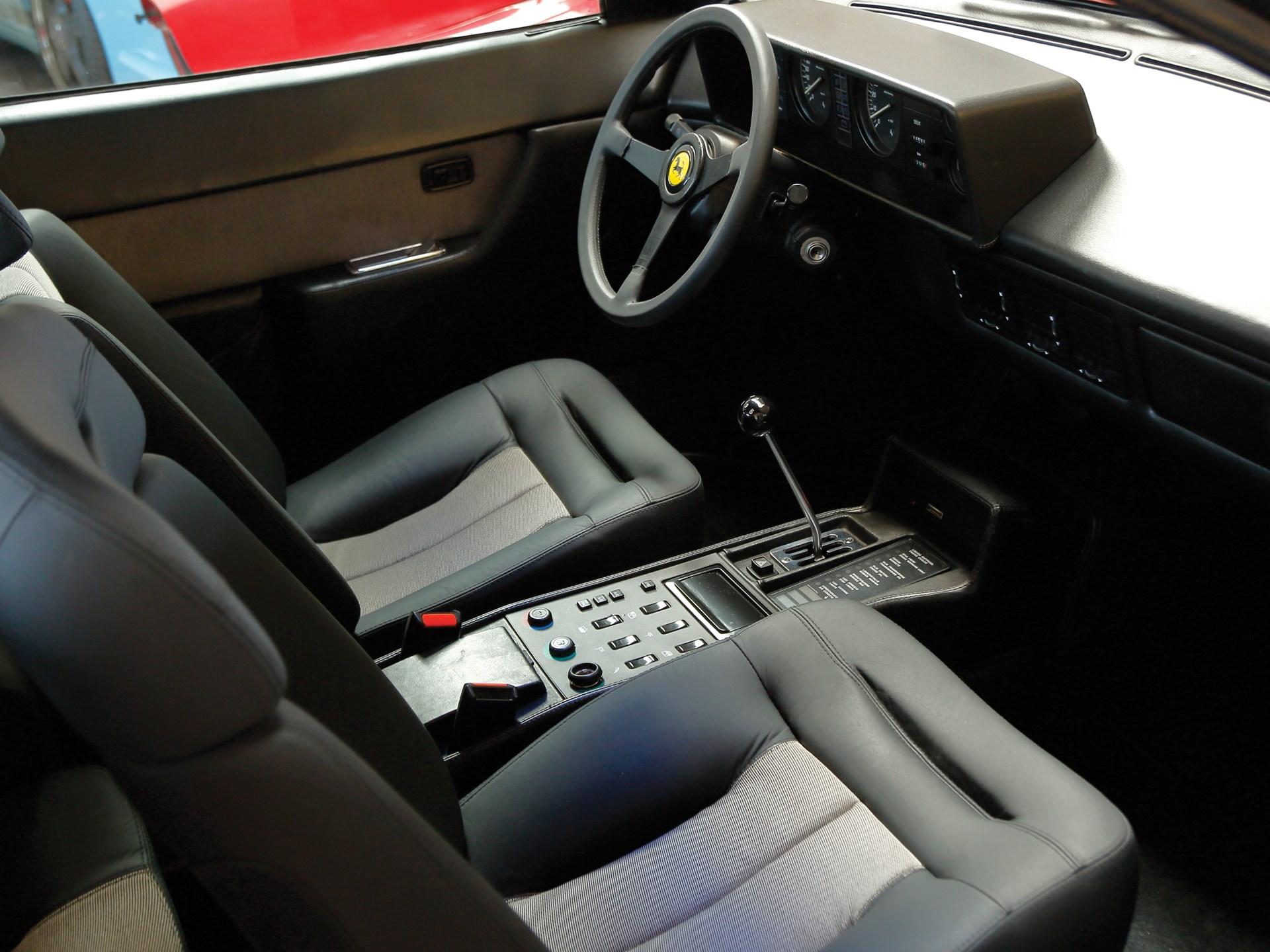 classic ferrari supercar interior