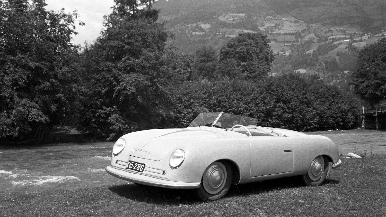 Porsche 356 front three-quarter