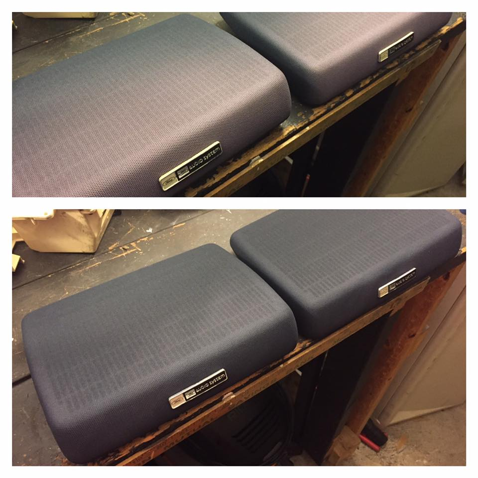 car audio trim covers with color coating