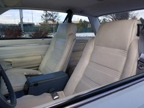 1978 classic chevrolet malibu coupe interior seats