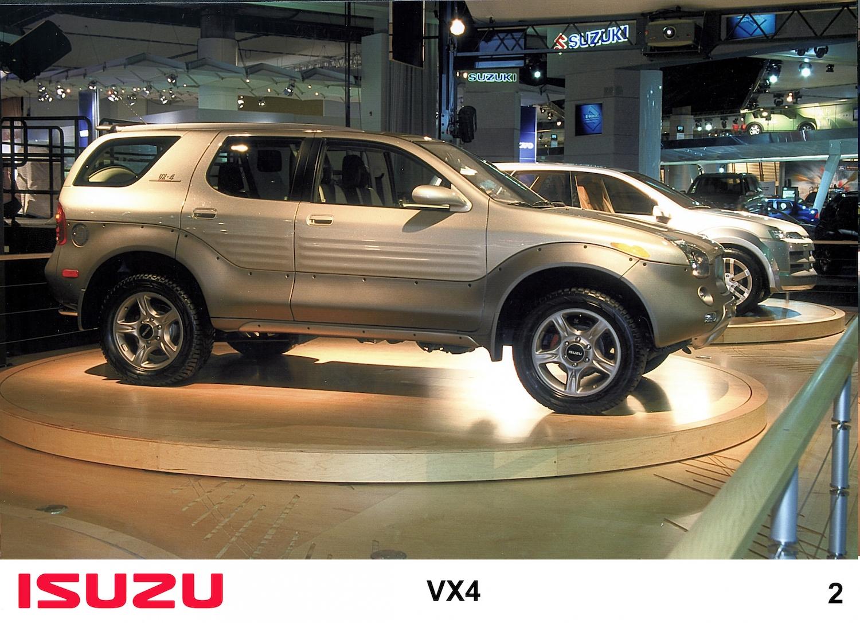 Isuzu vx4 suv front three-quarter