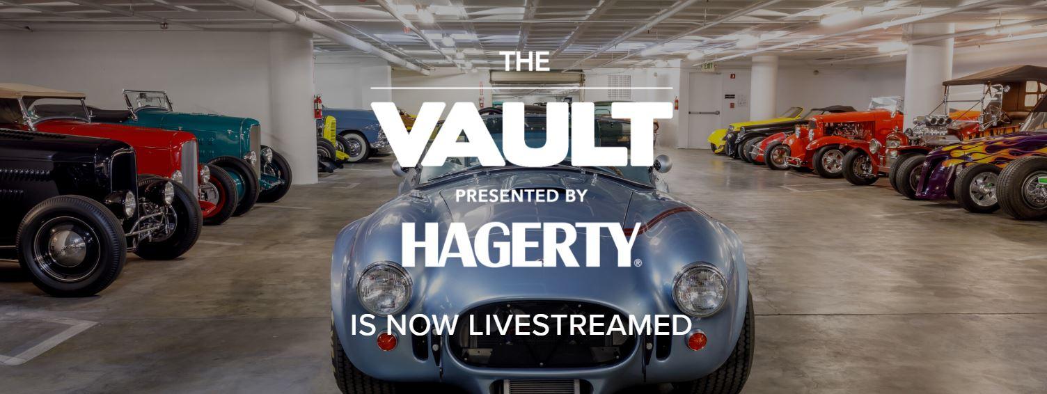 Petersen Vault livestream presented by Hagerty