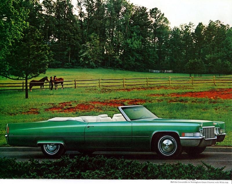 1970 Cadillac De Ville convertible