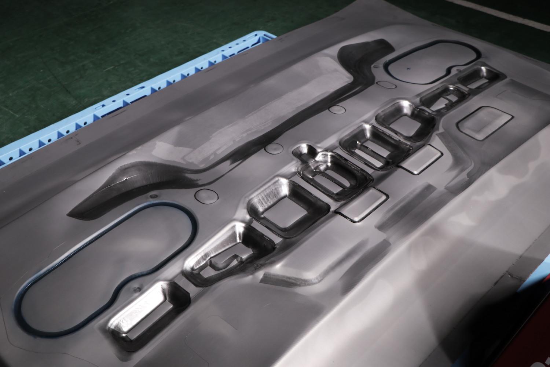 stamped steel part