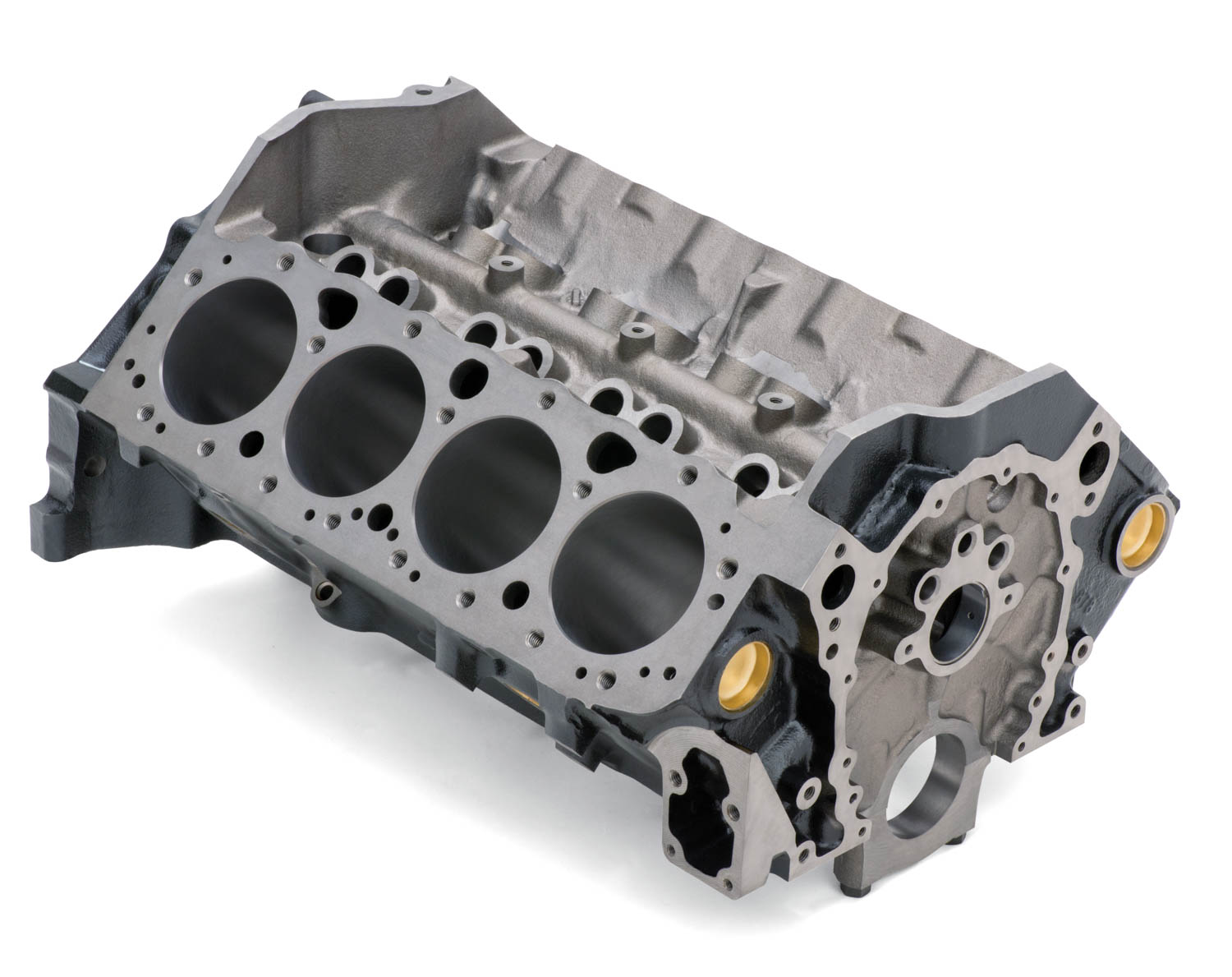 Every small-block generation since the original has retained the 4.40-inch bore centers and cam-in-block design.