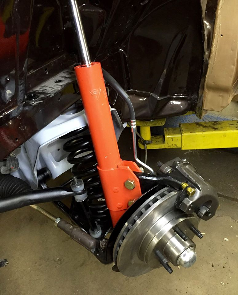 new ford oem sourced suspension and brake parts