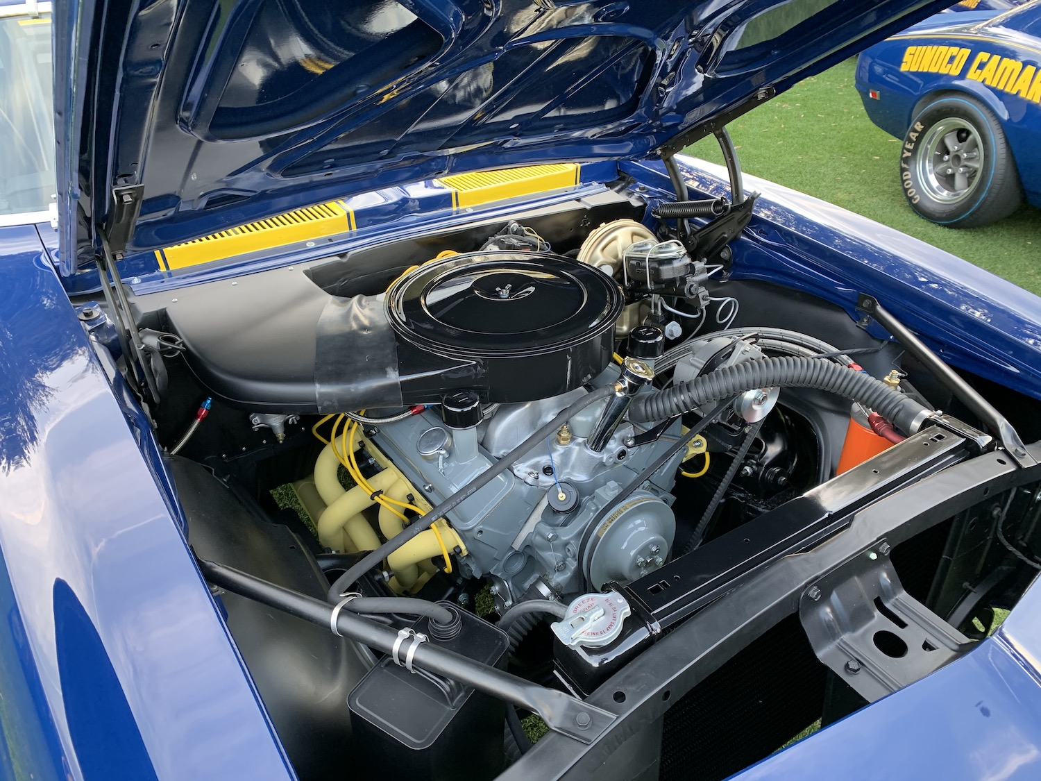 penske l88 restored camaro engine