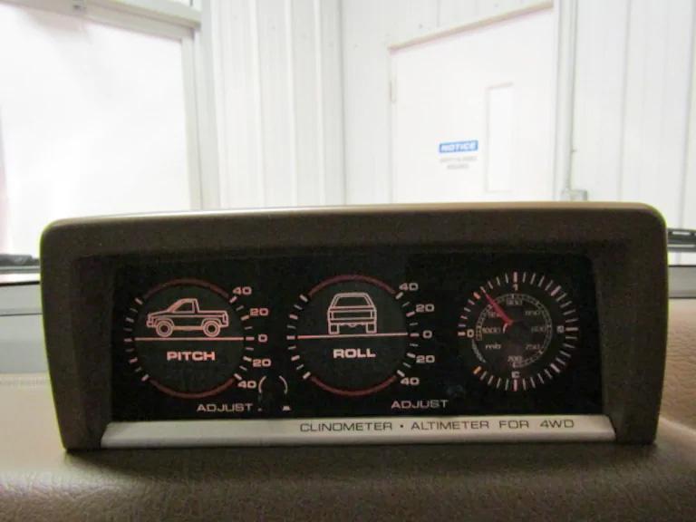 jdm firetruck front dash gauges