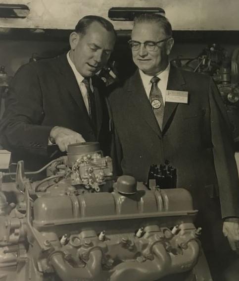 Buddy Allen (right)