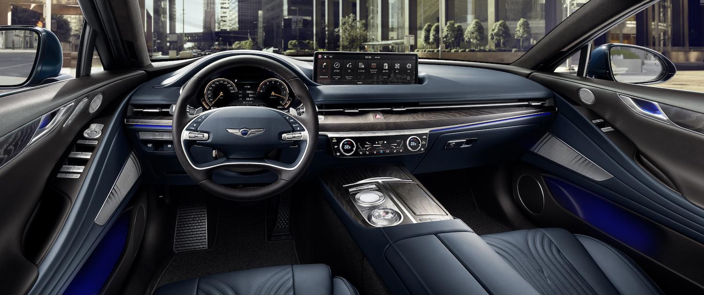 g80 sedan interior front