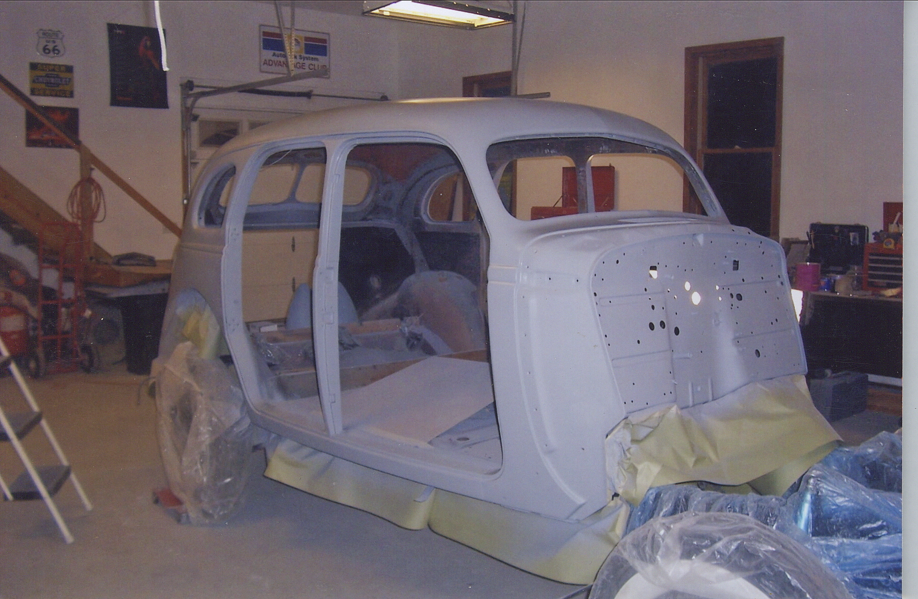 classic 1938 nash sedan restoration body