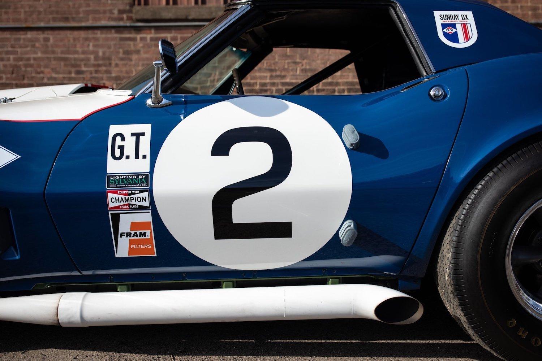 1968 Chevrolet Sunray DX L88 Yenko Racer side profile close