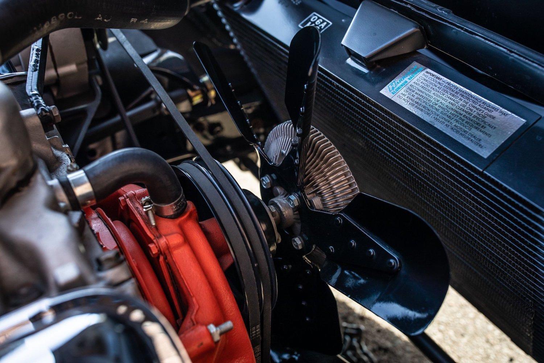 1968 Chevrolet Sunray DX L88 Yenko Racer fan and radiator