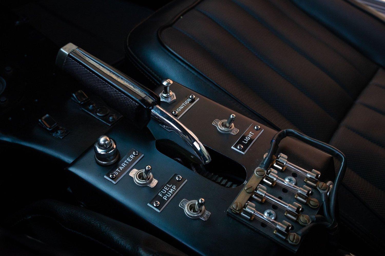 1968 Chevrolet Sunray DX L88 Yenko Racer console